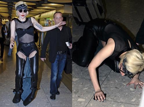 Lady Gaga se fait ramener surTerre.