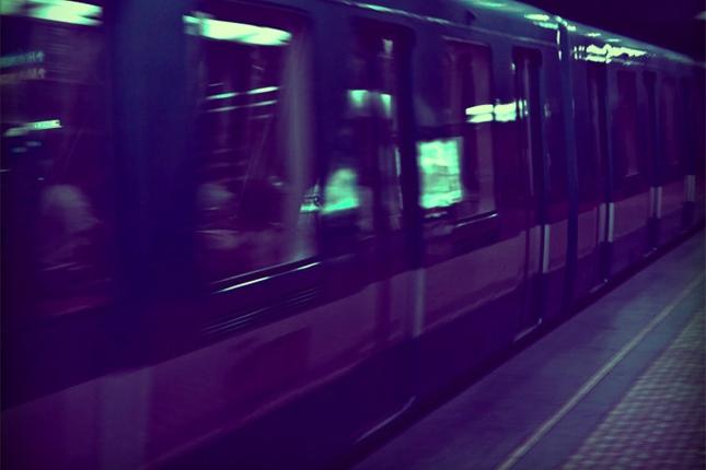 Il fait beau dansl'métro.